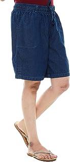 Twist Women's Denim Blue Shorts