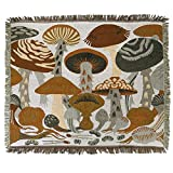 ANswet Tapestry Wall Hanging Handicrafts Tapestry Jacquard Multipurpose Soft Travel Mat Outdoor Shawl Colourful Tassels Wall 50x60 inch