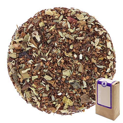 "N° 1424: Tè rosso Rooibos biologique in foglie ""Mela Cotta"" - 100 g - GAIWAN® GERMANY - tè in foglie, tè bio, rooibos, anice, cassia, liquirizia, finocchio, mandorle, mela, aromi naturali, rosa"