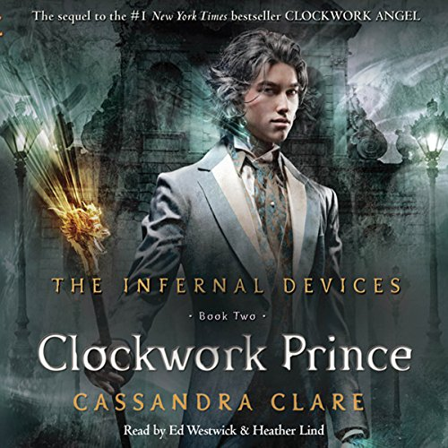 The Clockwork Prince audiobook cover art