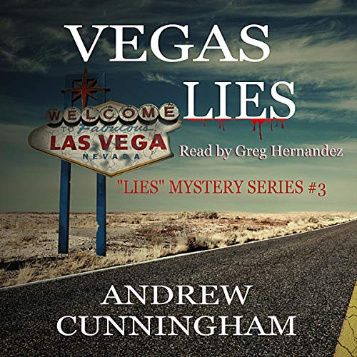 Vegas Lies audiobook cover art