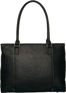 "Vintage 15.4"" Leather Carryall"