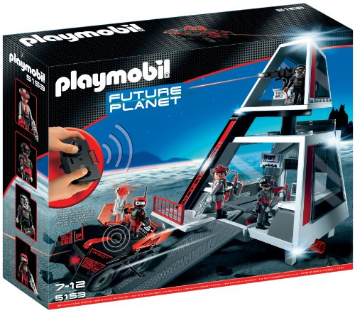 PLAYMOBIL - Darksters cuartel General (5153)