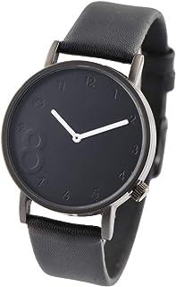 RENEE(ルネ) メンズ レディース 腕時計 シンプル デザインウォッチ 人気 (ブラックxブラック) [並行輸入品]