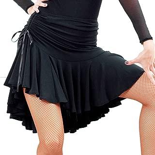 COSCOO Fashion Latin Dance Active Skorts Plus Size Ballroon Tango Swing Rumba Women Dance Skirt