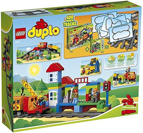 Lego Duplo Set de Tren Deluxe Juego de Construcción