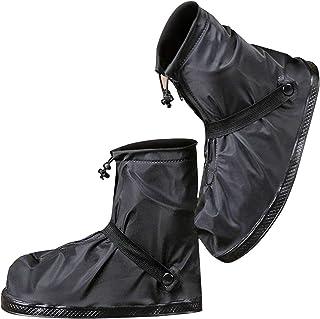 [moofun] 【改良型 シューズカバー 靴カバー 防水 梅雨対策 レインカバー 軽量 滑り止め コンパクト 雨 泥避け 雨具 男女兼用 靴の保護 履きやすい 登山 自転車用 通勤通学 手入れ簡単