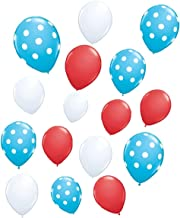 90shine 30 Pack Dr. Suess theme Latex Balloons - Baby Shower/Birthday/Cat Hat Party Supplies Decorations by Yen Jean