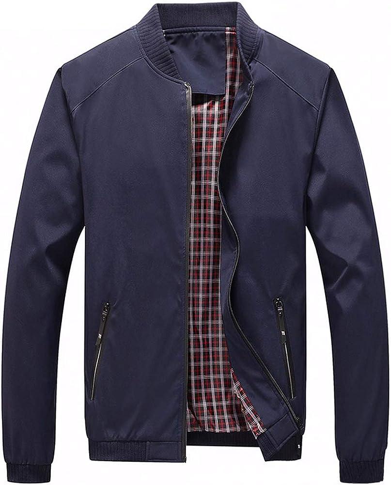 Men's Casual Lightweight Flight Zipper Softshell Jacket Finally resale start At the price Windbrea