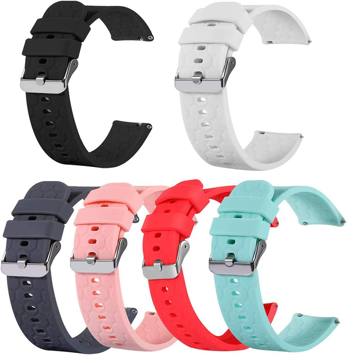 TenCloud 6-Pack Bands Compatible Opening large release sale with Amazfit Free shipping anywhere in the nation 20mm Band 2 Q GTS