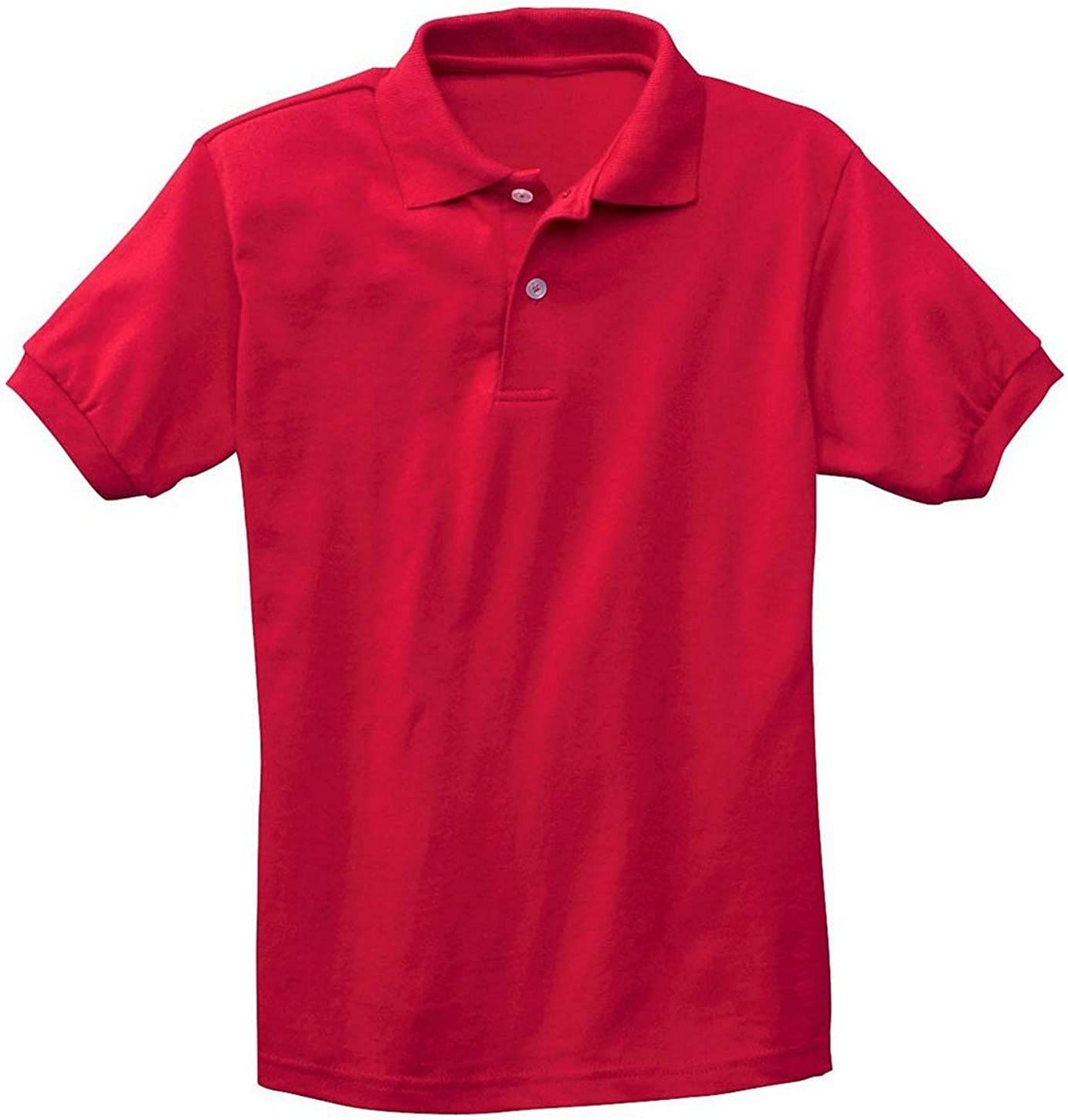 USA Hanes Stedman 054Y Youth 50/50 Jersey Knit Polo