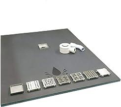 Nassboards Premium Pro 10.0m/² Kit /Élite de Tapis de Chauffage Au Sol /Électrique de 150 W Thermostat Blanc WiFi Sans Fil
