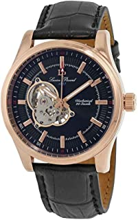 Morgana Open Heart Mechanical Hand Wind Men's Watch LP-40006M-RG-01