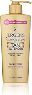 Jergens Natural Glow Tan Extender Daily Moisturizer 7.50 oz (Pack of 3)