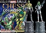 Colección Ajedrez Marvel Comics Marvel Chess Collection Edición Doble Drax & Gamora