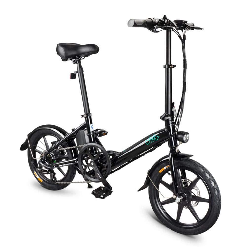 FIIDO Bicicleta Eléctrica Plegable D3s 7.8 - Tres Modos De Velocidad, Batería De Litio De 36V 7.8 Ah, Motor Sin Escobillas De 250W - Pantalla LED: Amazon.es: Deportes y aire libre