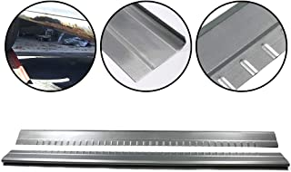 1 Pair Lower Slip-On Rocker Panels Covers Protector Replacement Fit For 1999-2007 Chevy Silverado GMC Sierra Extended Cab 4 Door