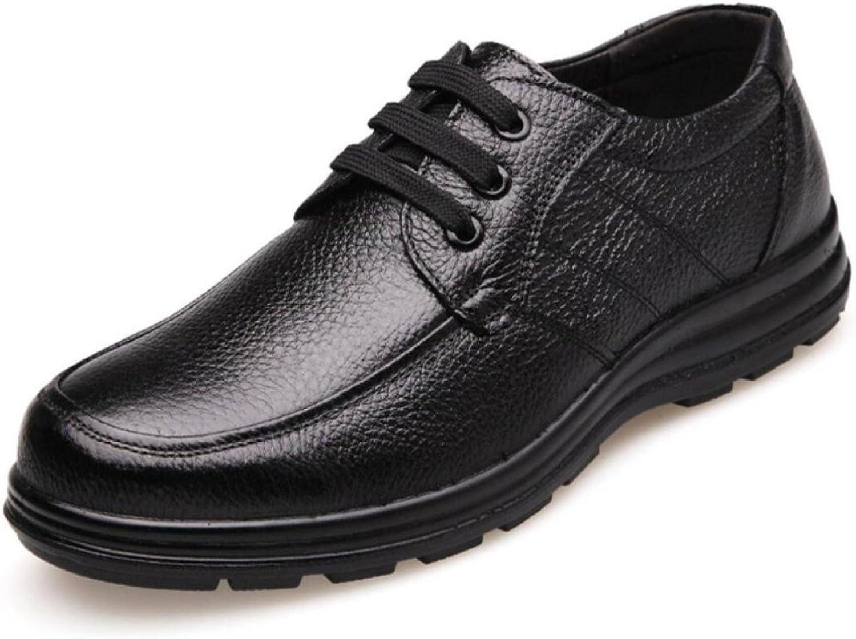 LEDLFIE Men's Real Leather shoes Men's shoes Casual shoes Genuine Leather Business Leather shoes