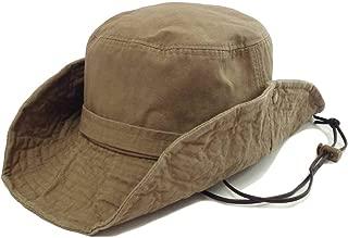 サファリハット 帽子 大きいサイズ キッズサイズ 54cm-64cm 大人 子供 アドベンチャーハット UV つば広 フェス アウトドア hat-1245