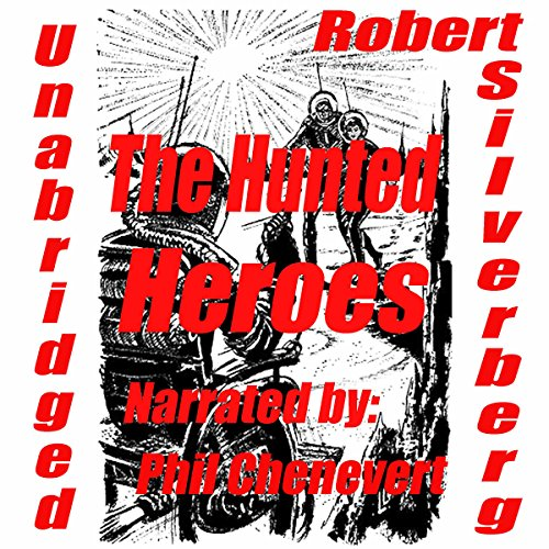 The Hunted Heroes audiobook cover art