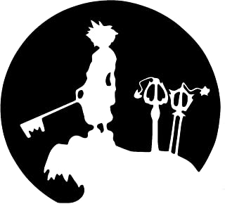 Silhouette Decals-Kingdom Hearts Sora Moon Light 5