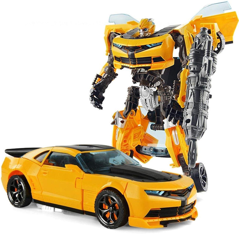 servicio considerado ZHANG Juguete Transformador Donkey Kong Niño Niño Niño Niño Coche Robot Mano Modelo Amarillo  compra limitada
