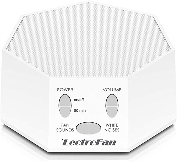 LectroFan High Fidelity White Noise Machine With 20 Unique Non Looping Fan And White Noise Sounds And Sleep Timer FFP