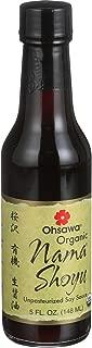 Ohsawa Macrobiotic Foods Organic Nama Shoyu - Soy Sauce, 10 Ounce -- 6 per case.