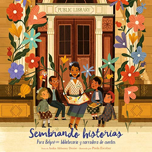 Sembrando historias [Planting Stories] cover art