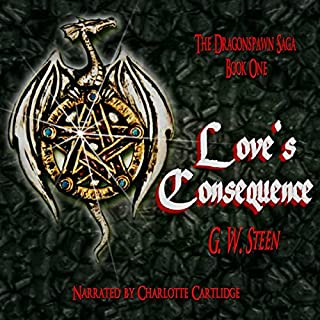 Love's Consequence audiobook cover art
