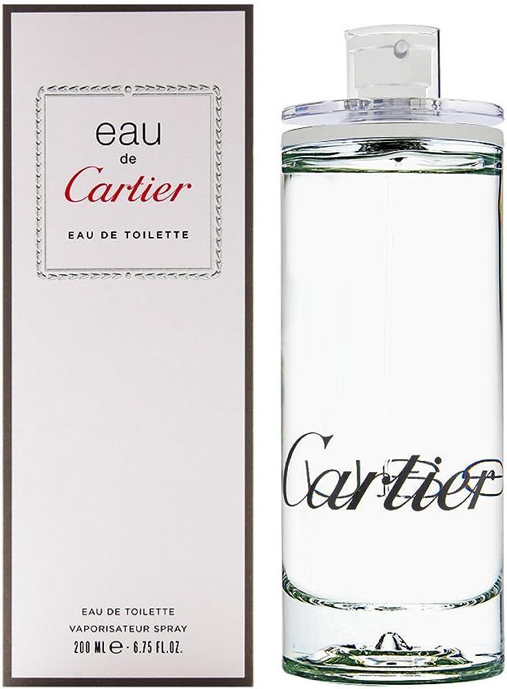 Cartier - eau de toilette unisex spray - 200 ml 126590