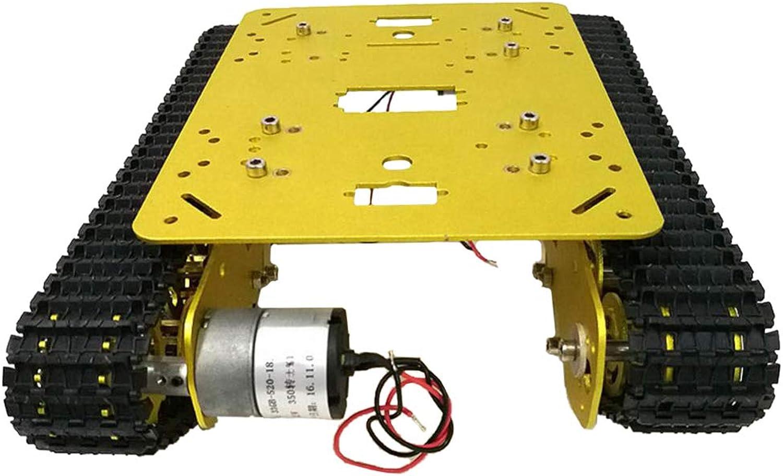 servicio honesto Perfeclan Chasis Coche Tanque Robot TS100 para Arduino DIY DIY DIY Juguete Dorado Piezas de Equipo Industriales  solo cómpralo