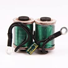 Professional Tattoo Coils 28mm 32mm 10 Wrap Copper Wire for Tattoo Machine Tattoo Parts for Tattooing Gun Shader Liner Green Red 2 Colors Optional (32mm, Green)