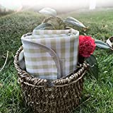 Extra Large Picnic Blanket Camping Blanket Picnic Mat Outdoor Blanket with Waterproof Great for Beach Outdoor Camping Picnic 79 x 79 Inches Green