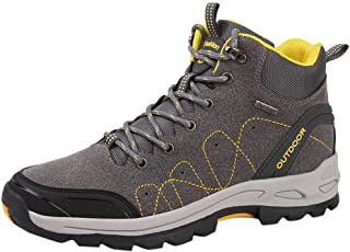 〓COOlCC〓Men Lace-up Sneaker,Waterproof Hiking Boots Low Cut Ankle Boot Outdoor Walking Shoes Backpacking Trekking Trails