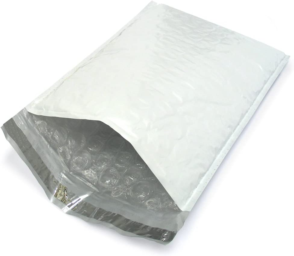 200 Pack #2 8.5x12 Blue Poly Bubble Mailers Padded Mailing Envelope Shipping Bags 8.5 x 12