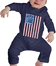 Mri-le1 Newborn Baby Bodysuits Hmong Story Flag Baby Rompers