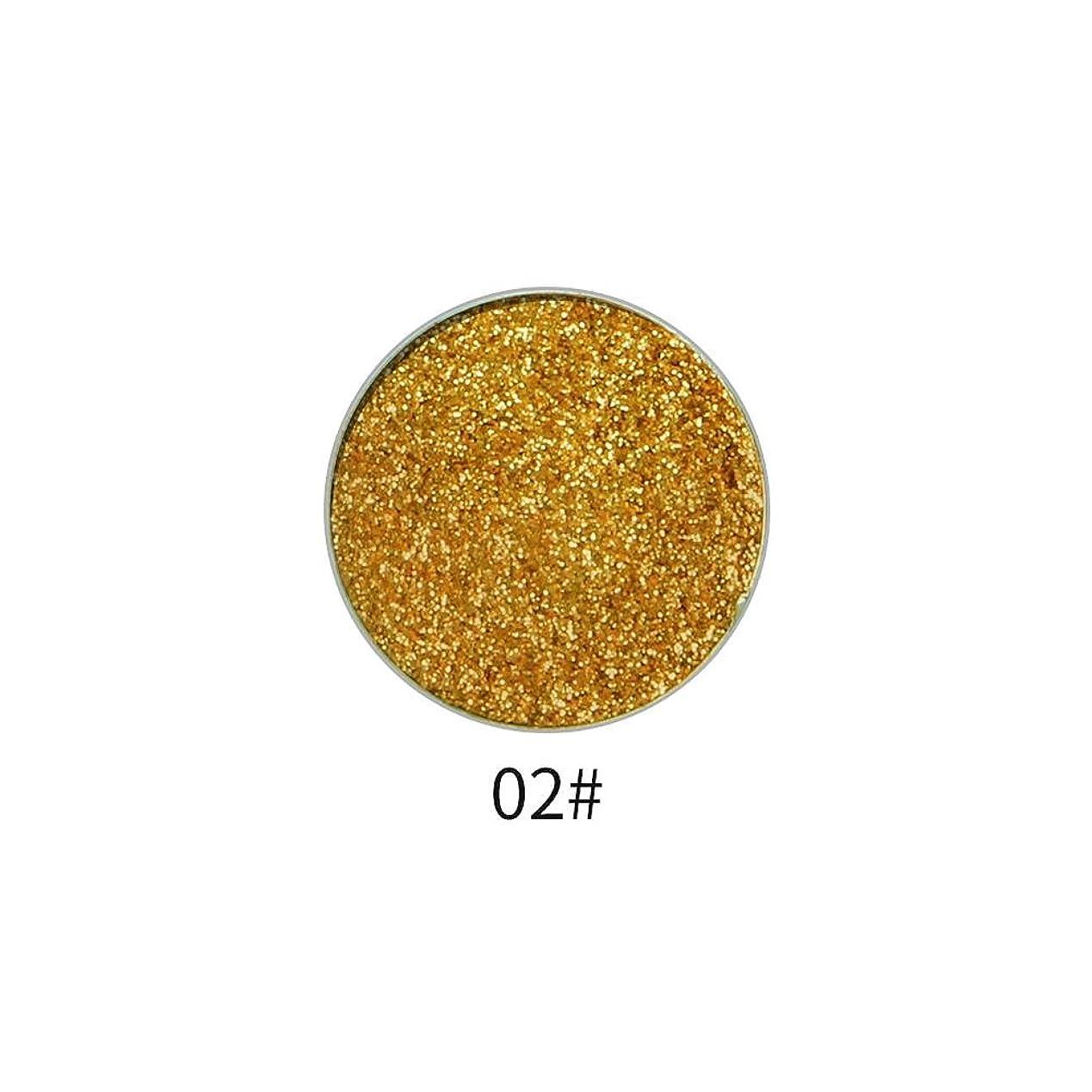認めるスピリチュアルフィルタ9色アイシャドウパレット顔料シャイニングパウダーマットグリッターアイシャドウパウダー(2)