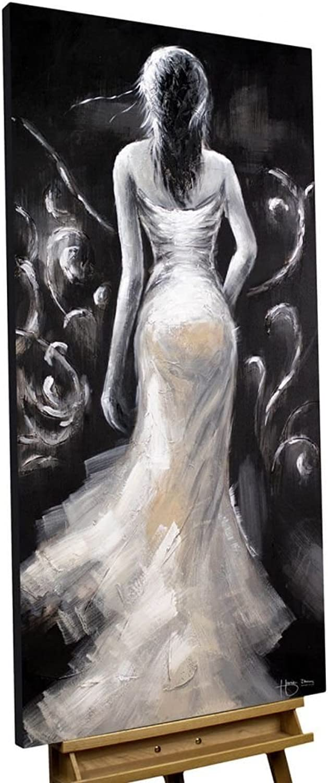 Acryl Gemälde \'All Eyes on Me\' 60x120cm original handgemalte ...