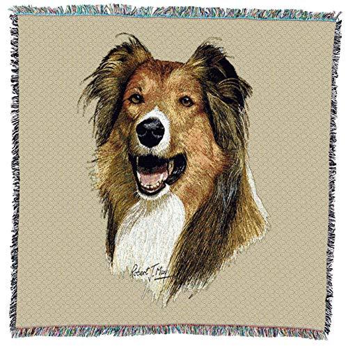 Pure Country 1942-LS Rough Collie Manta para Mascotas, 137 x 137 cm