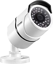 ZOSI 1080P POE Security IP Camera - 2.0MP Waterproof Bullet Camera with 100ft Night Vision for Outdoor Indoor Power Over Ethernet Surveillance System