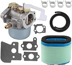 Mannial 690152 Carburetor Carb fit Briggs & Straton 694203 698055 121602 121607 121612 122602 122612 128612 Lawnmower Generator with Air Filter