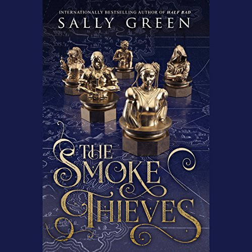 The Smoke Thieves audiobook cover art