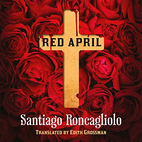 Red April audiobook cover art