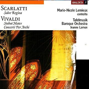 Vivaldi, Scarlatti, Avison: Salve Regina, Stabat Mater, Concerti per Archi