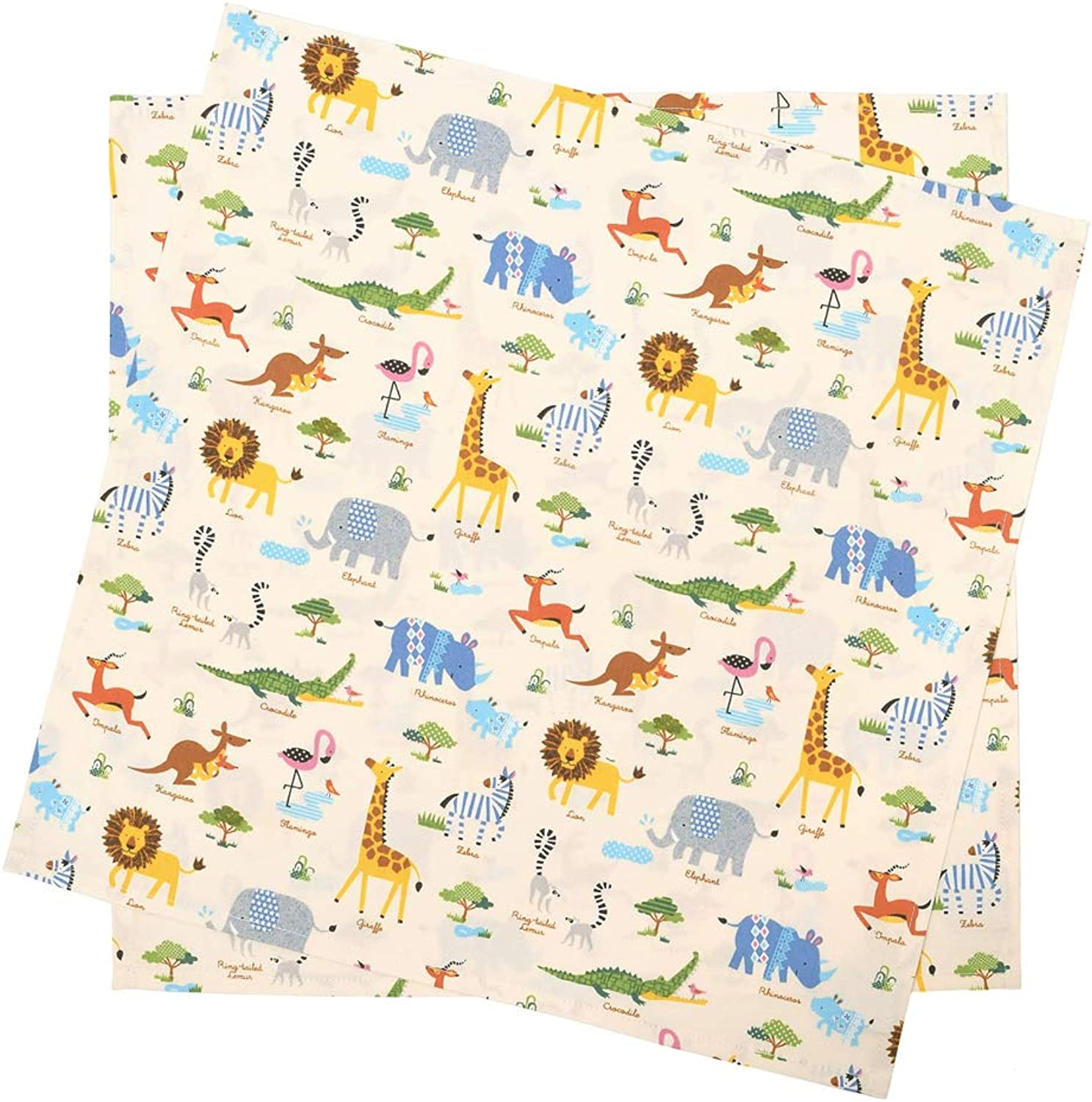 Set of 2 Standard type savanna animal animal animal crossing