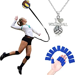 FLYsport Volleyball Training Equipment Aid- Arm Swings Volleyball Warm Up Tool- Great Trainer for Solo Practice of Serving Tosses and Passing Technique