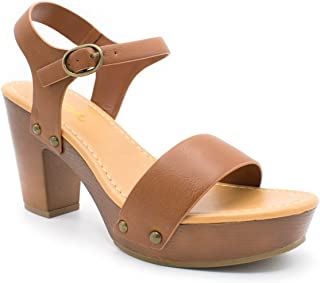 Best clog heels open toe Reviews