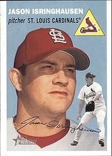2003 Topps Heritage #308 Jason Isringhausen Cardinals MLB Baseball Card NM-MT