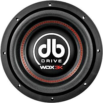 db Drive K5F 10D4 DVC Flat Subwoofer 500W Dual 4 Ω Voice Coil 10